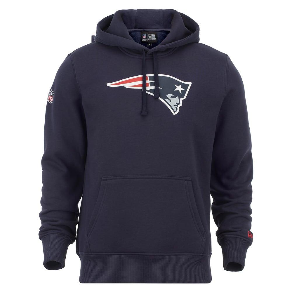 Dunkelblauer New England Patriots Hoodie